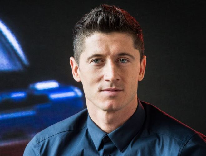 Robert Lewandowski, futebolista polonês