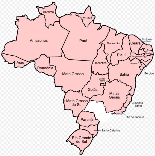 Brasil mapa 4