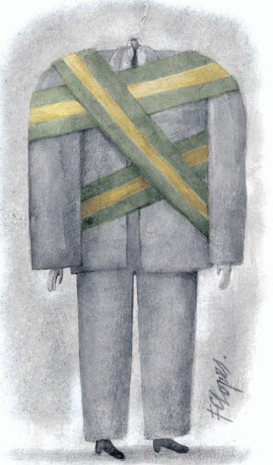 by Fernando de Castro Lopes (1957-), desenhista carioca