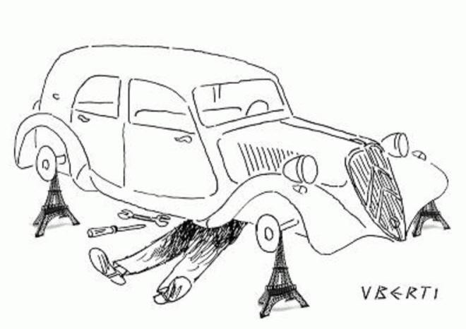 by Fernando Jorge Uberti (1941-), desenhista gaúcho