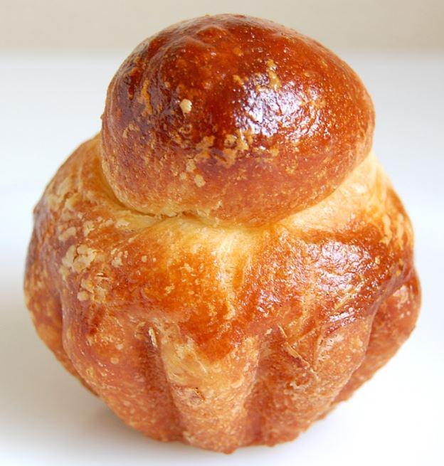 Briche - produto de patisserie francesa