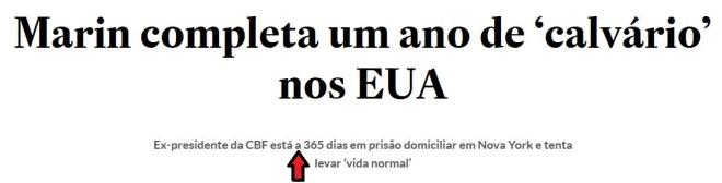 Chamada do Estadão, 3 nov° 2016 clique para ampliar