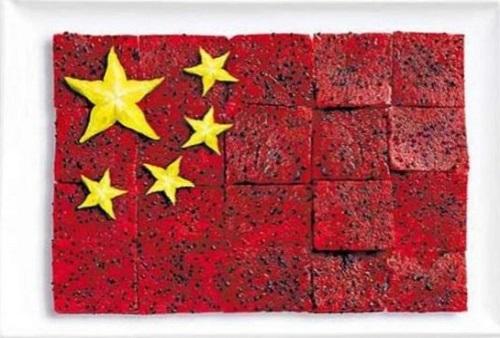 China: pitaia (fruta do dragão) e carambola