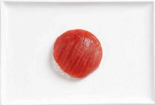 Japão: arroz e atum
