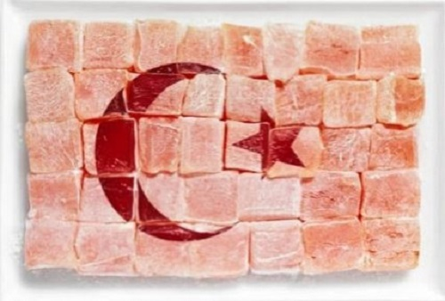 Turquia: turkish delight (= locum)
