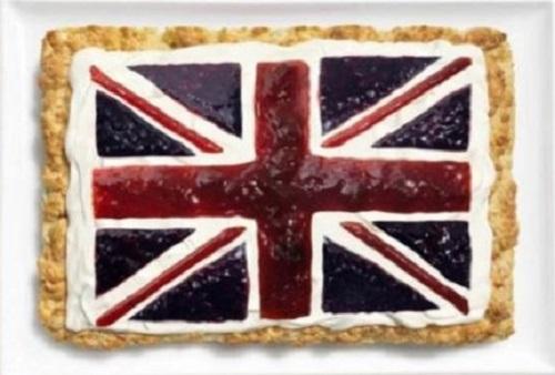 Reino Unido: scone, queijo cremoso e geleias