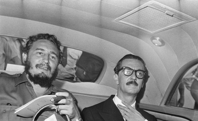 Fidel Castro e Jânio Quadros