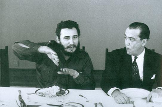Fidel Castro e Juscelino Kubitschek