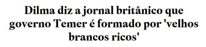 Chamada do Estadão, 8 dez° 2016