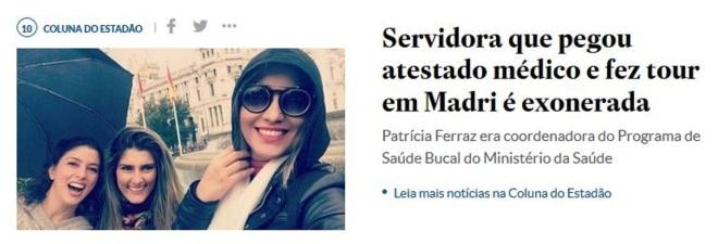 Chamada do Estadão, São Paulo