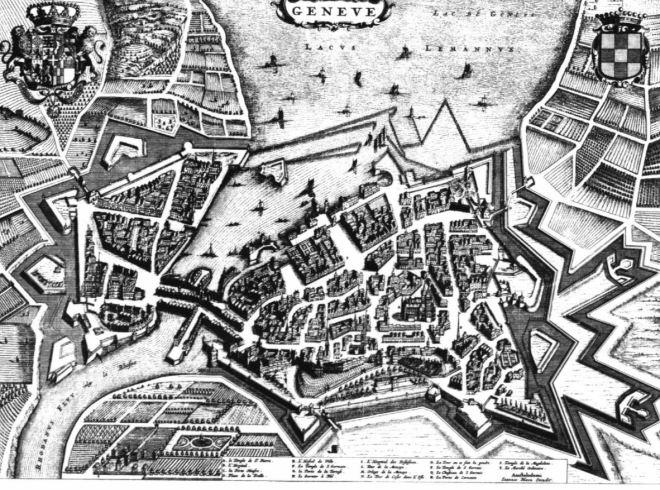 Genebra nos anos 1600