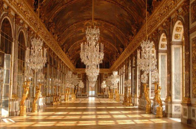 Palácio de Versailles - Salão dos espelhos