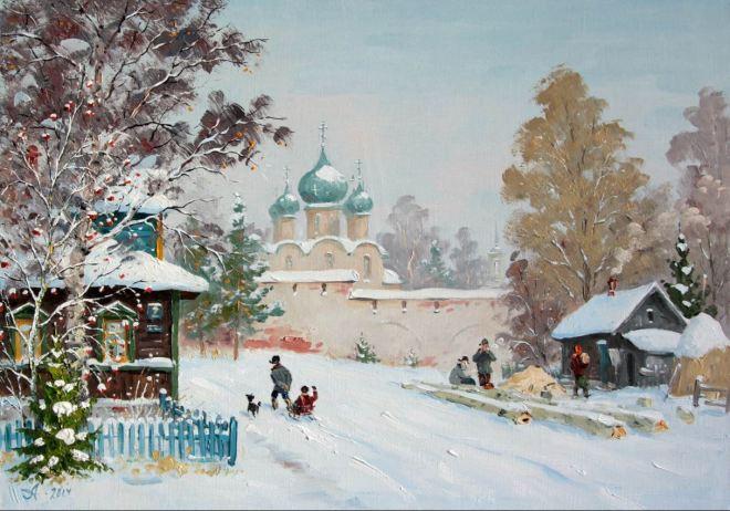 by Alexander Alexandrovsky (1951-), artista russo