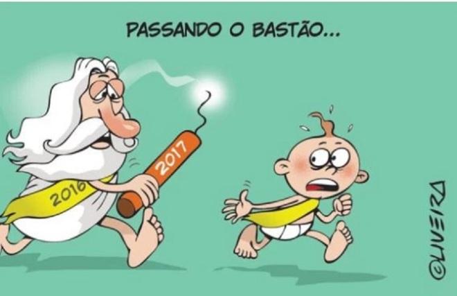 by Alexandre de Oliveira (1971-), desenhista gaúcho