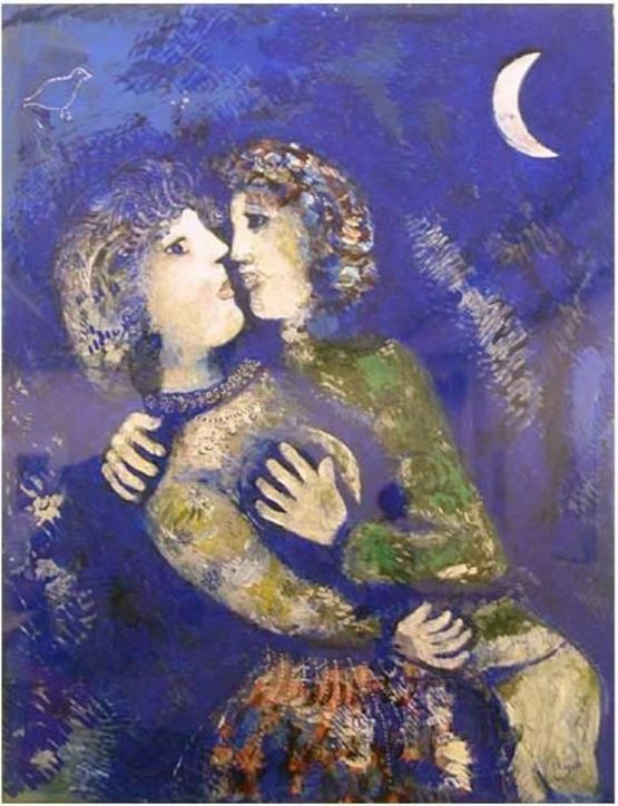 by Marc Chagall (1887-1985), artista franco-russo