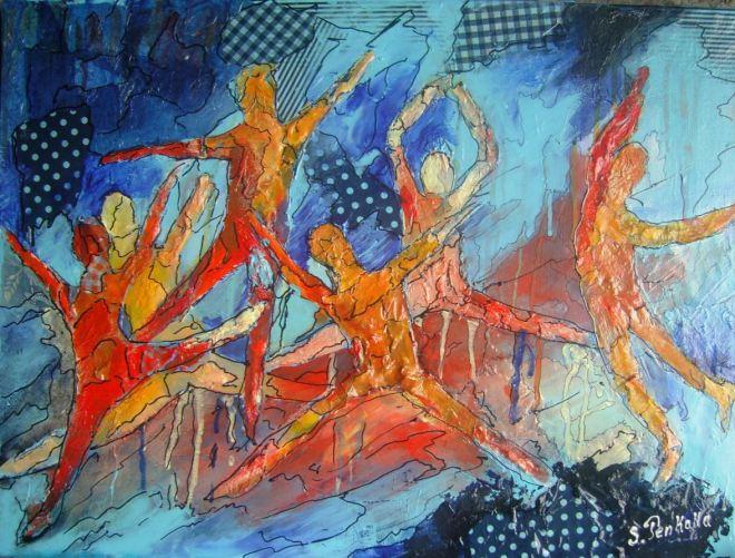 by Sylvia Penkalla, pintora francesa