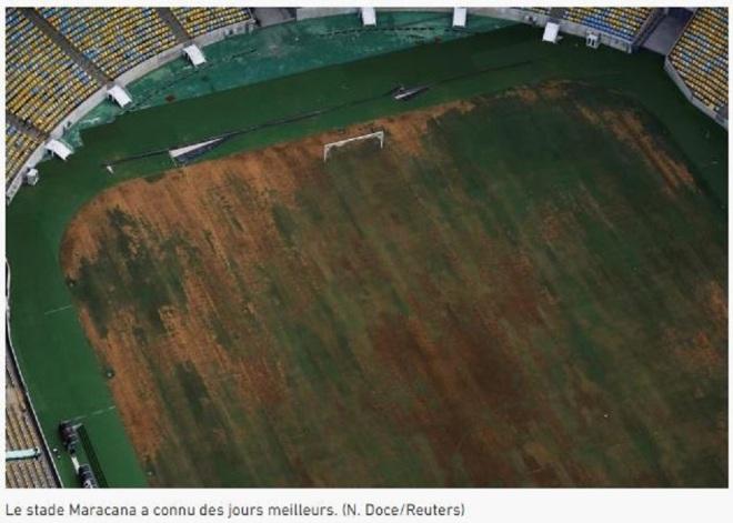 O estádio do Maracanã já conheceu dias melhores