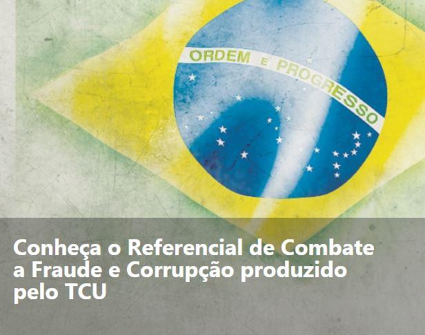 Bandeira brasileira tal como aparece no site do TCU