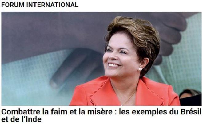 Combate à fome e à miséria: os exemplos do Brasil e da Índia