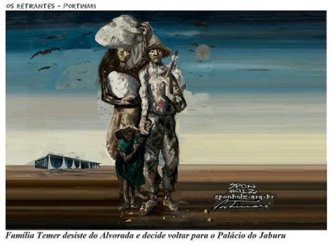 by Roque Sponholz, desenhista paranaense apud Candido Portinari